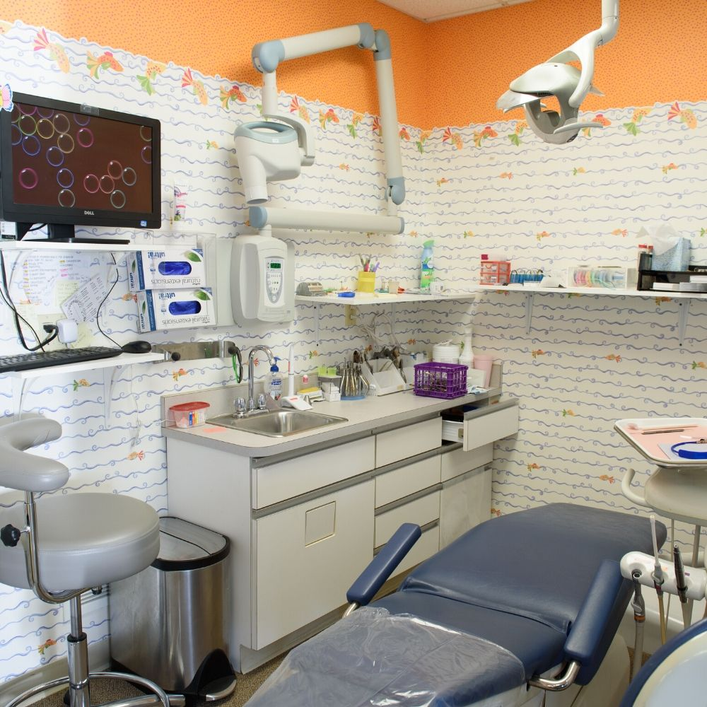 Oregon Pediatric Dentistry Patient room