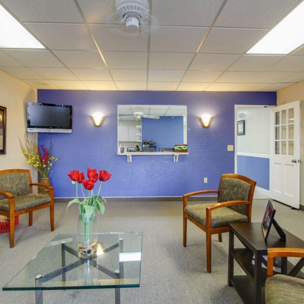waterside dental pinellas park lobby
